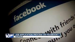 Applying for jobs through Facebook