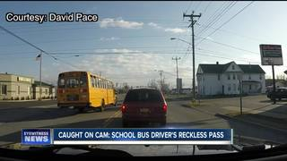 Bus driver's illegal move caught on camera