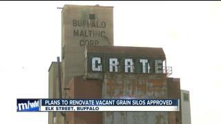Plans to renovate Buffalo grain silos