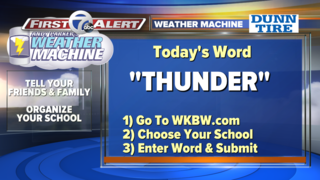 Weather Machine Word Revealed