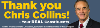 Pro-Chris Collins Billboard to go up Monday