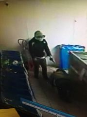 Police investigating robbery at Cash for Cans
