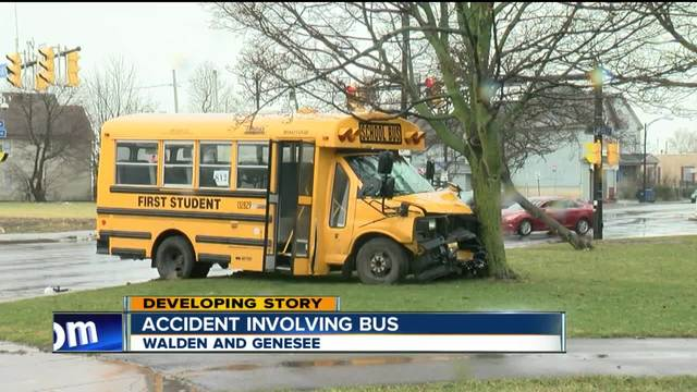 school bus involved in accident tuesday morning