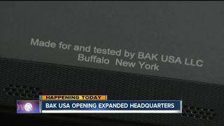 Bak USA celebrates expanded headquarters