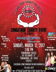 Charity Zumbathon to benefit Make-a-Wish WNY