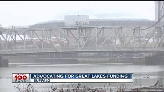 Pushing to keep Great Lakes funding