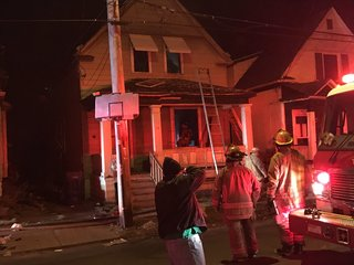 Five people forced out of home by fire