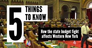 Five things: How NY budget fight affects WNY
