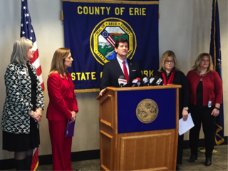 Poloncarz pushes for equal pay on Equal Pay Day