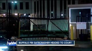 Man accused of ramming FBI gates in court