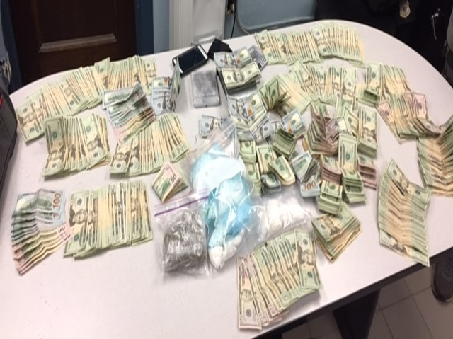 drug task force arrests traffiickers in dunkirk with over 30 ounces of cocaine