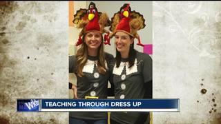Buffalo teachers dress head to toe for lessons