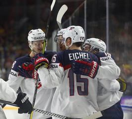 Eichel, USA rattle off third straight win
