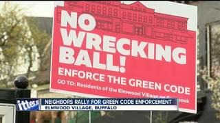 Elmwood Village neighbors rally against project