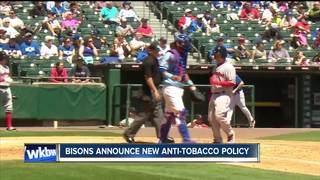 Bisons ban e-cigarretes and tobacco products
