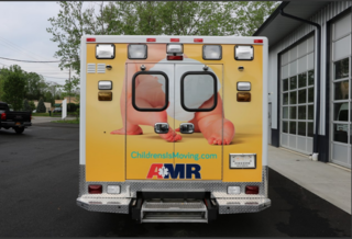 High-tech ambulances transport young patients