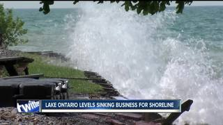 High water is washing away holiday business