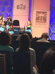 6-year-old eliminated from Spelling Bee Finals