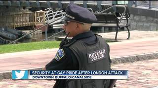 Strong security presence at Buffalo Pride Events