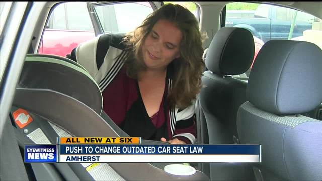 Push to change New York\'s outdated car seat law - WKBW.com Buffalo, NY