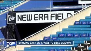 Bringing big shows back to New Era Field