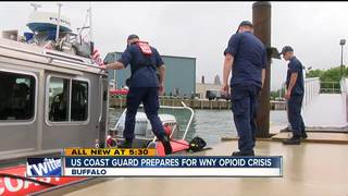 U.S. Coast Guard prepared for opioids crisis