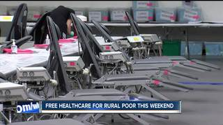 Free healthcare this weekend for the rural poor