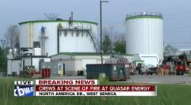 Crews Put Out Fire At Quasar Energy In West Seneca