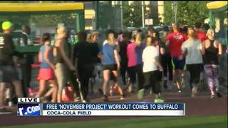 'November Project' offers free community workout