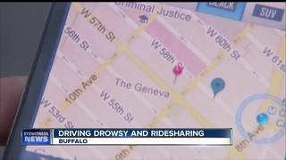 Drowsy driving and ride-sharing