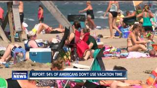 Many Americans don't use their vacation days