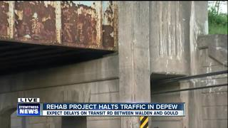 Major rehab project affects Depew traffic