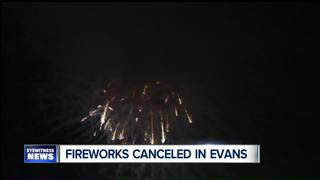 Fireworks canceled at Lake Erie Beach Park