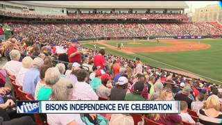 Independence Eve Celebration at Buffalo Bisons