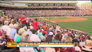 Keller Chevrolet Veterans Day at the Ballpark