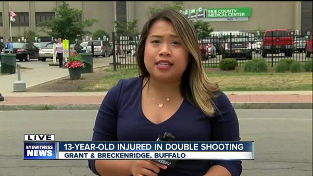 two shot on buffalo u0026 39 s west side  including preteen girl