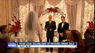 Bridal salons offer sales for a cause
