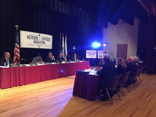 State senate hosts opioid task force hearing