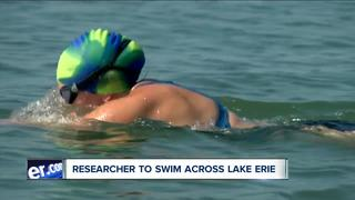 Researcher to swim across Lake Erie