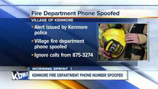 Scammers may be using Kenmore Fire Dept. number