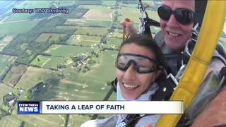 Buffalo woman takes a leap of faith