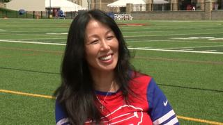 Watch full exclusive interview with Kim Pegula