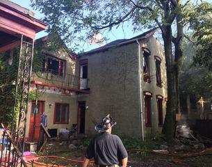 Crews fight 2-alarm fire in Allentown