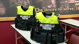 Williamsville FD reveal new safety vests