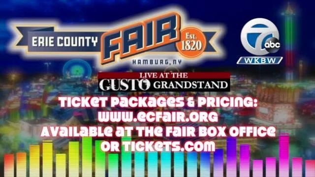 Erie County Fair - 2017 Concert Series