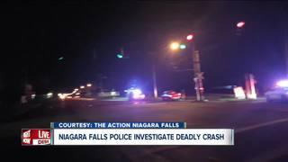 Man in his 80s dead in late night Falls crash