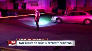 Two injured in shooting in Buffalo