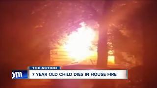 7 year old girl dies in Niagara Falls house fire