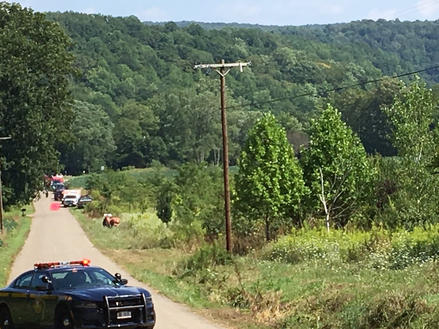 man  woman killed in fall at zoar valley