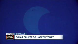 The Great American Eclipse hits WNY